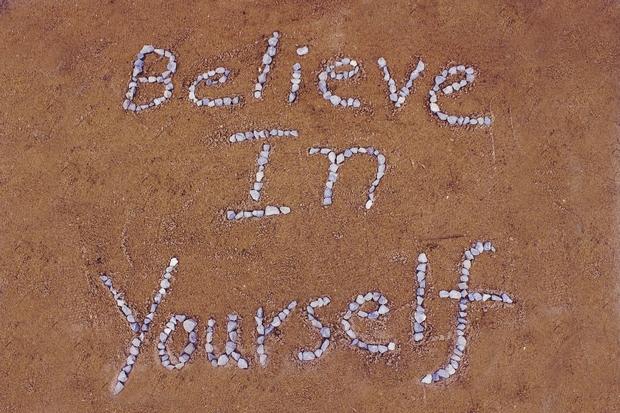 Believe in yourself rocks