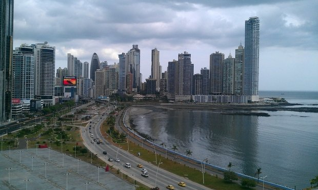 Image of a city in Panama