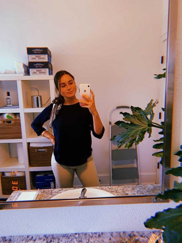 miranda mirror selfie