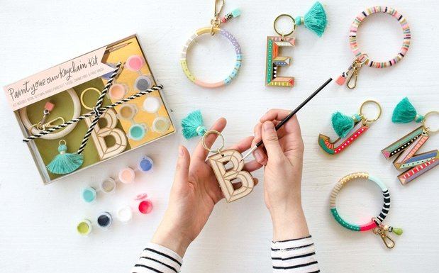 Keychain painting kit from Etsy
