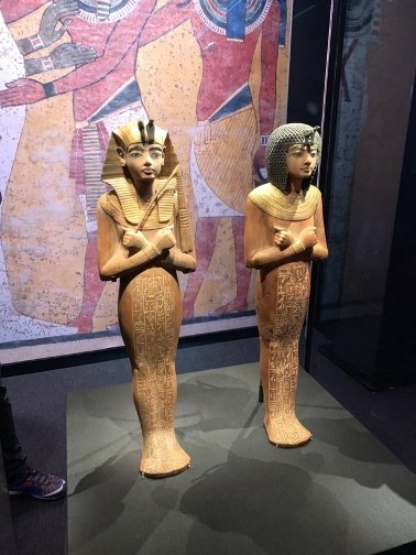 Artifacts from the tomb of Tutankhamun