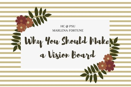 graphic for an article about vision boards