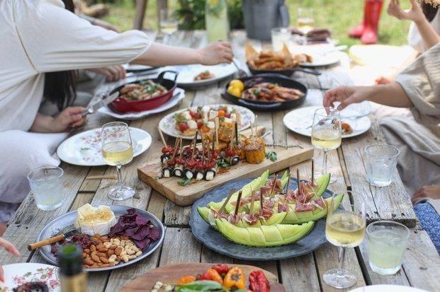 BBQ summer food