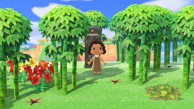 Animal Crossing Bamboo