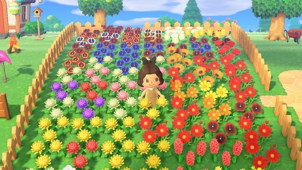 Animal Crossing Flower Garden