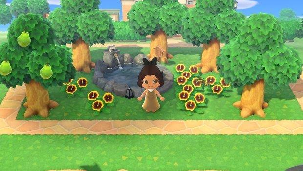 Animal Crossing bath