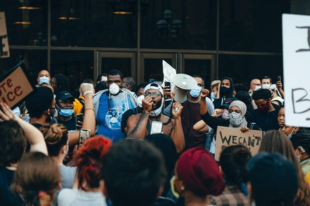 Black Lives Matter Protest in Minneapolis