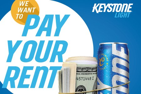 Keystone Light Rent contest