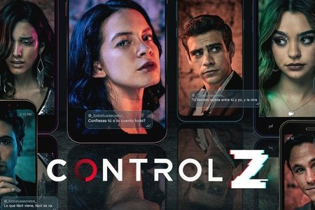 "The banner of the new Netflix series, ""Control Z"""