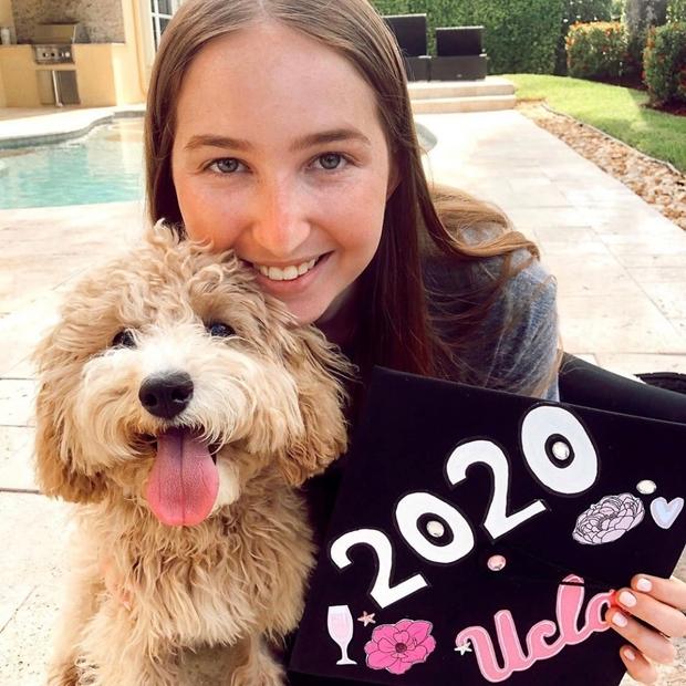 Photo of Alyssa Bonchick, graduating UCLA senior