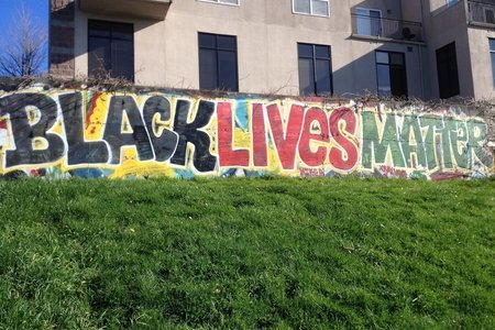 black lives matter graffiti