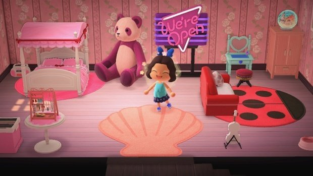 Anima Crossing bedroom