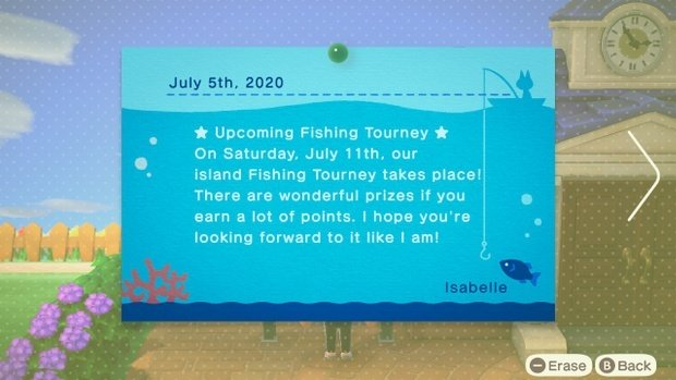 Animal crossing events