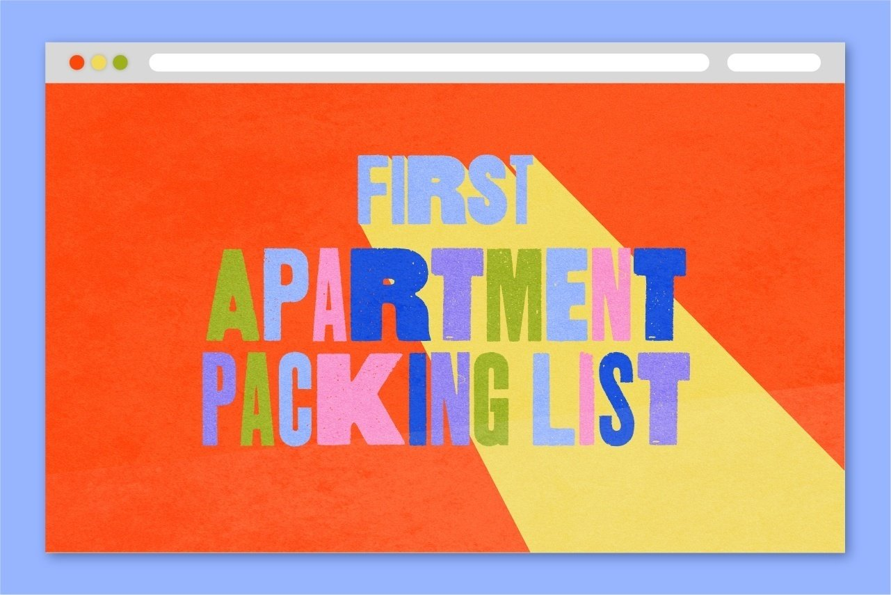 APARTMENT PACKING LIST