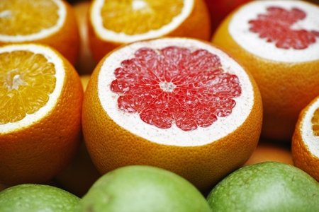 citrus fruits, close-up, food