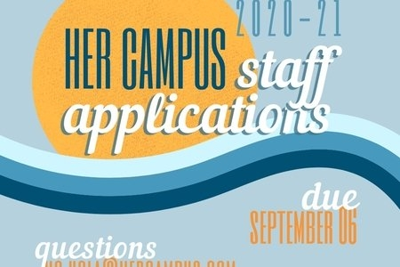 Her Campus UCLA Fall Application Graphic