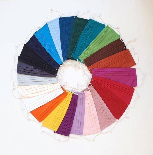 solid color face masks etsy shop