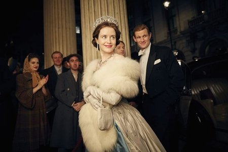 Claire Foy and Matt Smith in The Crown (Netflix)