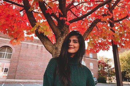 Fall Girl Penn State Photoshoot