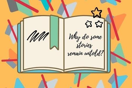 A book and mute symbol