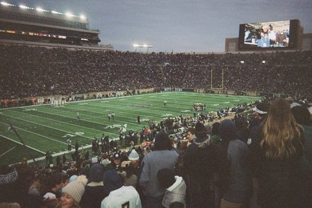 film picture of football game