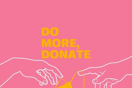 Do more, donate