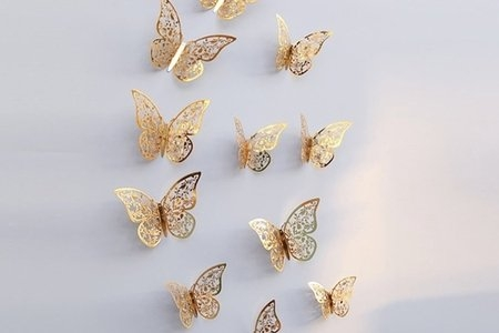 butterfly 3D wall stickers