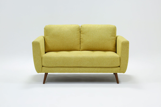 "Ginger Buttercup 60"" Loveseat - 360"