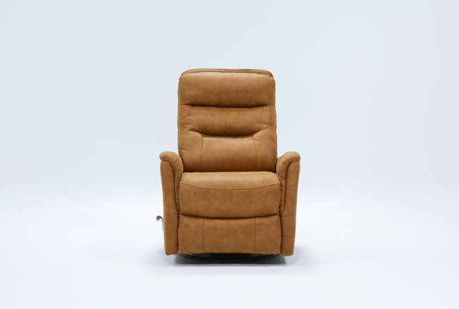 Gannon Autumn Swivel Glider Recliner - 360