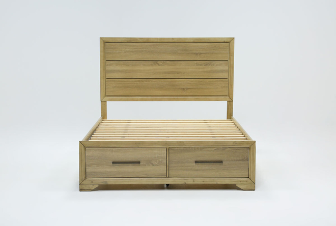 Hillsboro Queen Panel Bed With Storage - 360