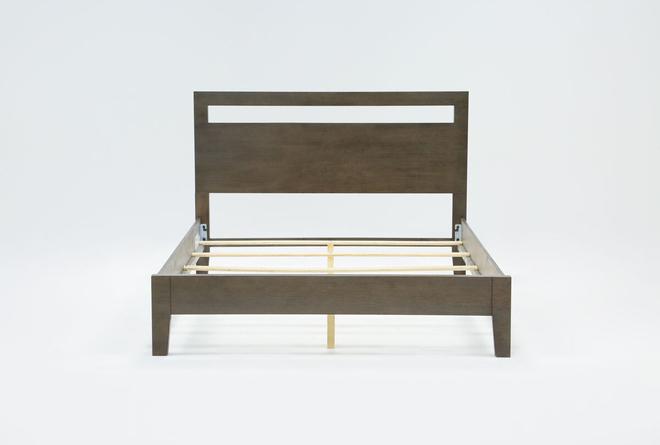 Gaven Grey Queen Panel Bed - 360