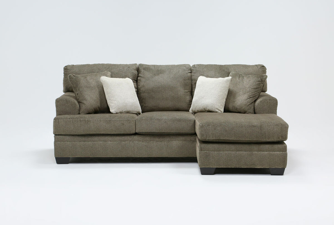 """Roland 92"""" Sofa With Reversible Chaise - 360"""