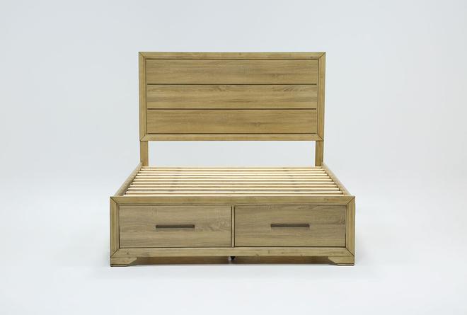 Hillsboro California King Panel Bed With Storage - 360