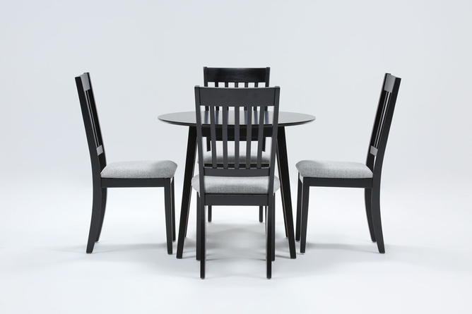 Kole 5 Piece Round Dining Set - 360