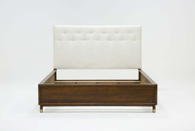 Brighton California King Upholstered Platform Bed By Nate Berkus And Jeremiah Brent - 360