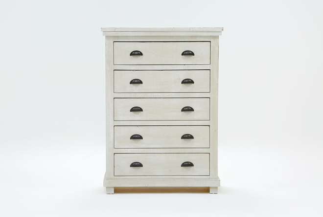 Sinclair Pebble Chest Of Drawers - 360