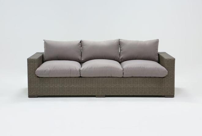 "Sanibel Outdoor Deep Seat 97"" Sofa - 360"