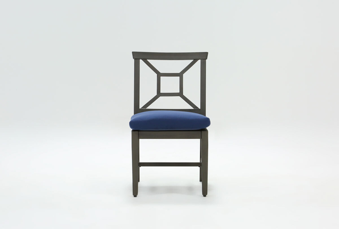 Martinique Outdoor Dining Side Chair - 360
