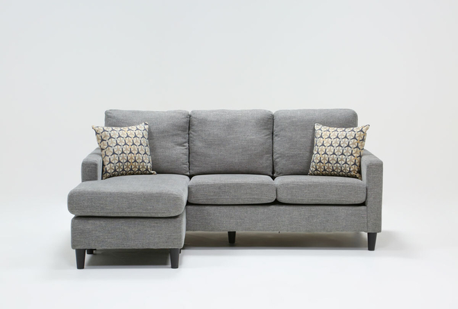 """Stark 80"""" Sofa With Reversible Chaise - 360"""