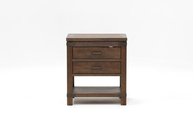 Livingston 2-Drawer Nightstand - 360