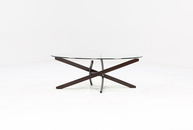 Brisbane Oval Coffee Table - 360