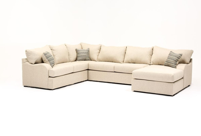 Meyer 3 Piece Sectional With Right Arm Facing Chaise - 360