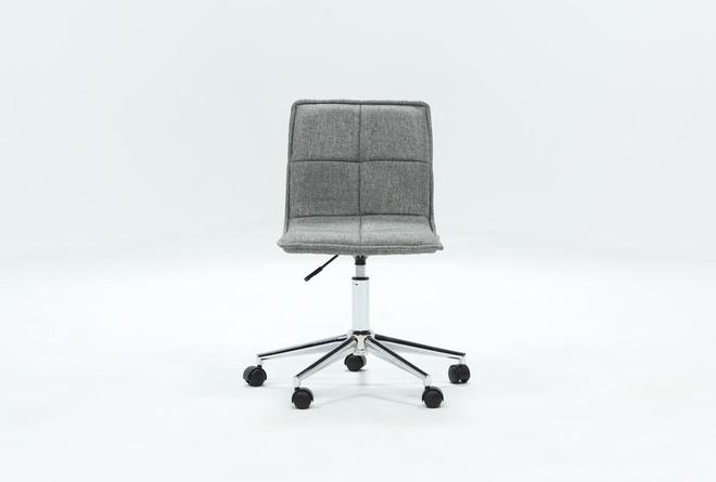 Rudy Grey Desk Chair - 360
