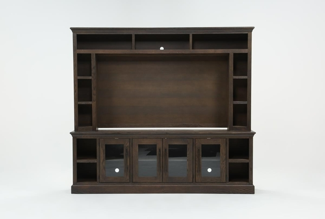 Wakefield 2 Piece Wall Entertainment Center - 360