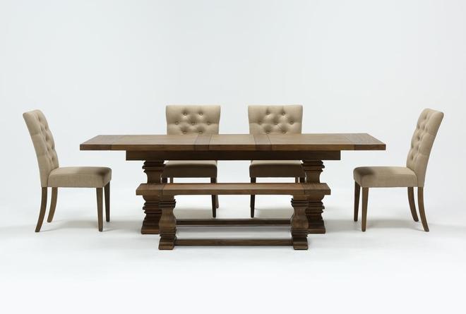 Parquet 6 Piece Dining Set - 360