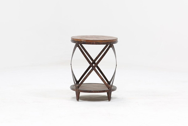 Mountainier Round End Table - 360