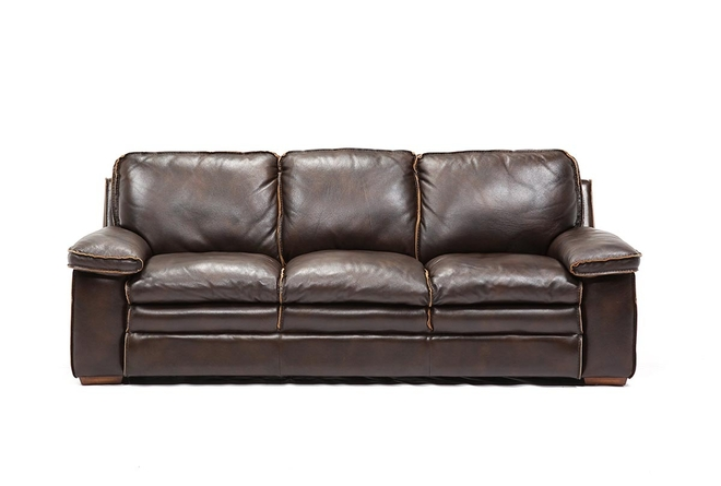 Walter Leather Sofa - 360