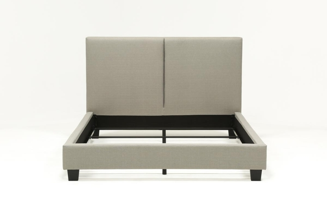 Rylee Eastern King Upholstered Panel Bed - 360