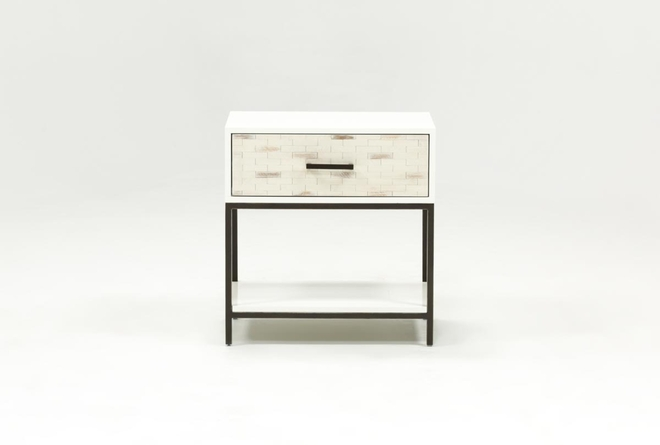 Elden 1-Drawer Nightstand - 360