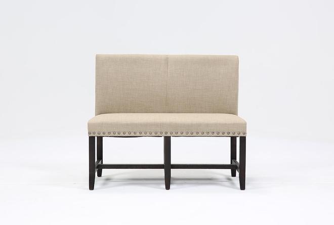 Jaxon Upholstered High-Back Bench - 360